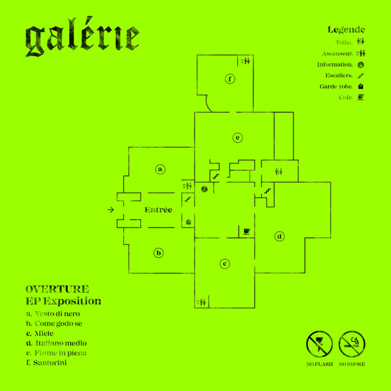 Overture in EP con Galérie