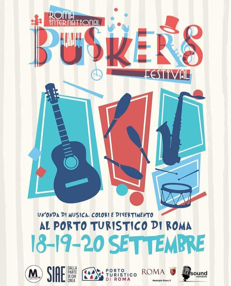 Roma International Buskers Festival, la tre giorni di musica colori e divertimento dal 18 settembre 2020