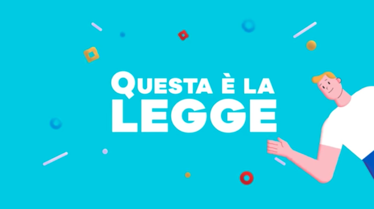 """Andrea Infusino firma la nuova sigla di """"Questa è la legge"""" di Angelo Greco"""